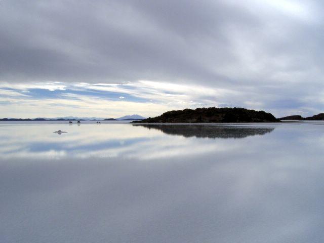 Salt reflections, Salar de Uyuni